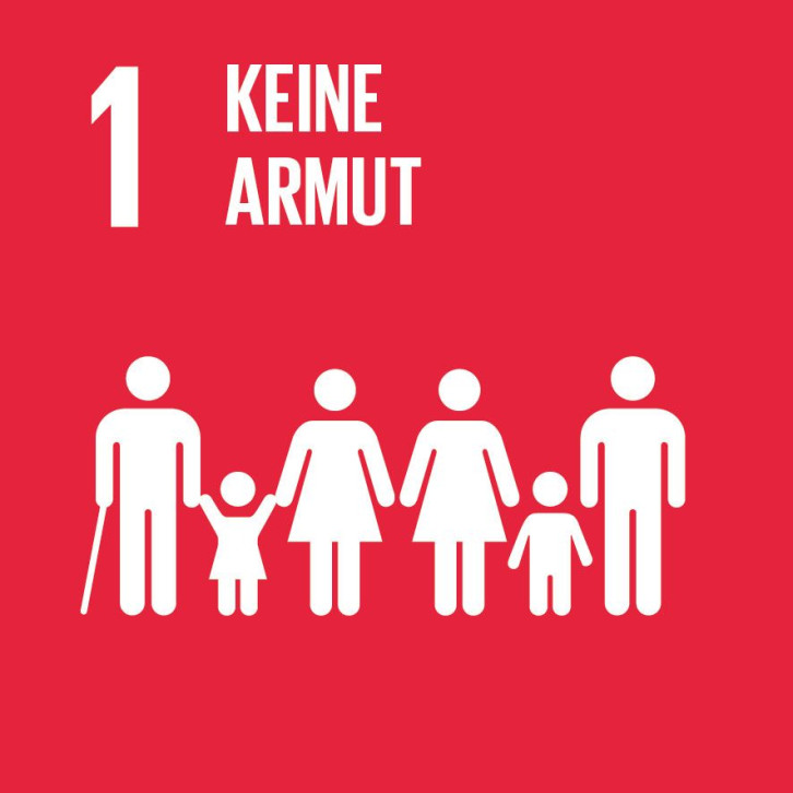 Bild von UN-Nachhaltigkeitsziel Nr. 1 - keine Armut