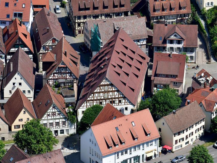 Luftbild Fruchtkasten / Foto: Holom