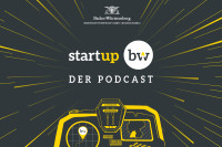 Logo Start-up BW Der Podcast