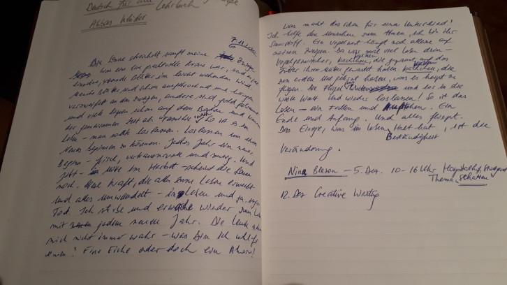 Interkulturelle Schreibwerkstatt: Skript von Elena Lenz