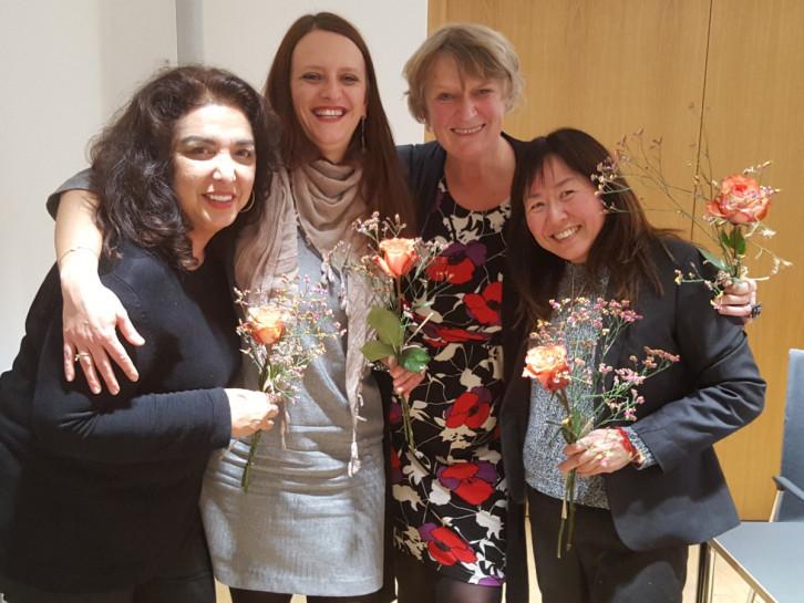 Teilnehmerinnen der Interkulturellen Schreibwerkstatt