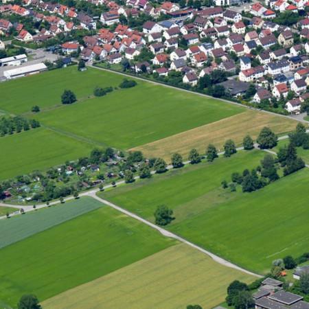 Luftbild Bereich Zwerchweg Herrenberg SÜD